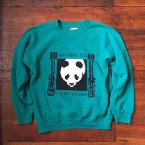 San Diego Zoo panda 1987-88 sweatshirt XS / S